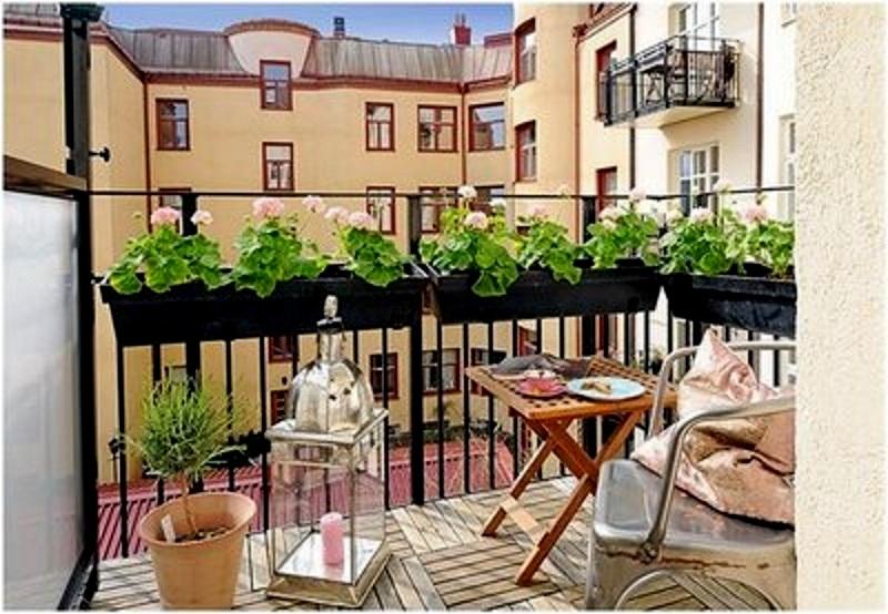 życie na balkonie
