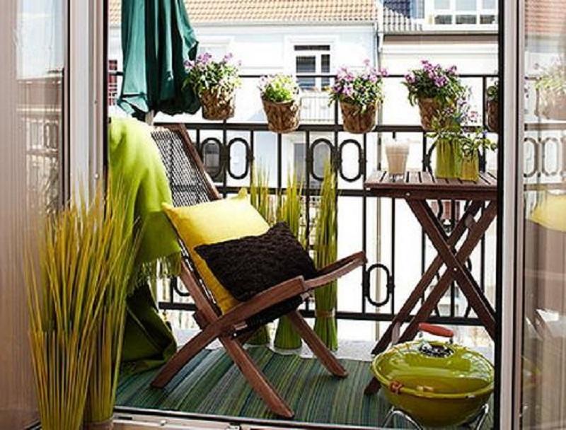 Mini Balkon mini balkon finest cqq blume regal balkon mini massivholz tisch